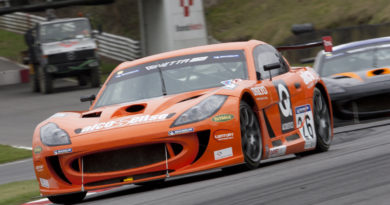 Hunter Abbott at Brands Hatch