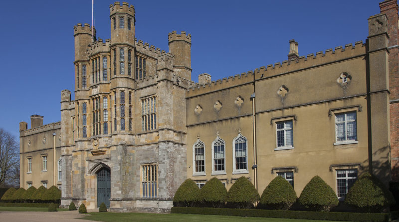 Coughton Court in Spring