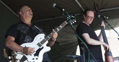 Sons of the Delta at Gloucester Rhythym and Blues Festival 2015