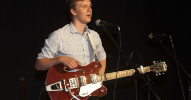 Ben Bryan at Shipston High School Concert - Shipston Proms