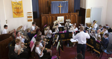 Shipston Junior Band - Shipston Methodist - Shipston Proms