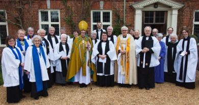 Induction of Rev Ros Greenhalgh at St Swithin's Quinton