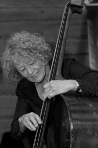 Group leader Alison Rayner on double bass