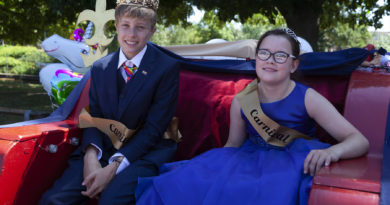 Evesham Carnival 2018 - King and Queen