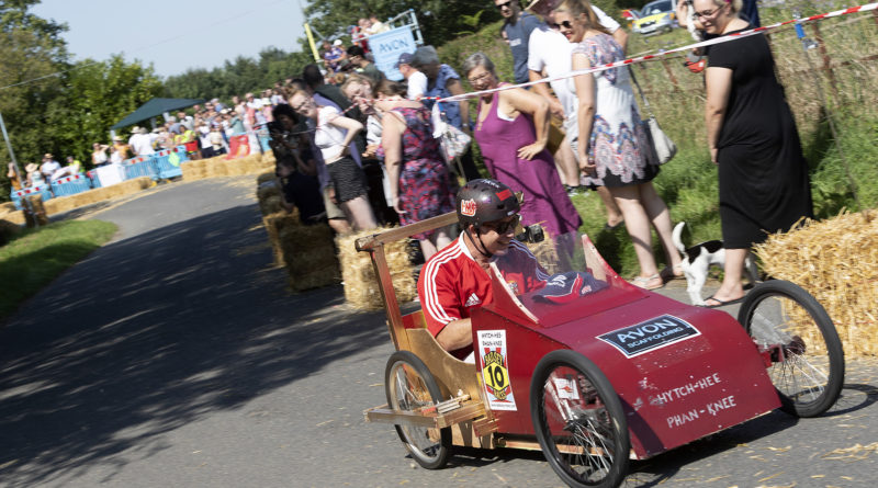 Searing Hot Badsey Soapbox Races